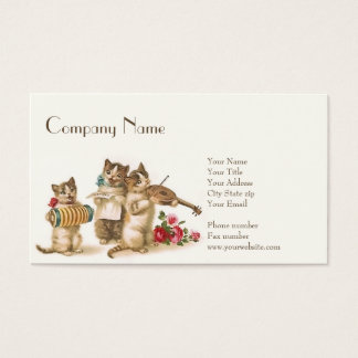 """Caterwauling Business Card 3.5"""" x 2"""", 100 pack"""