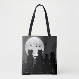 caterwauling tote bag