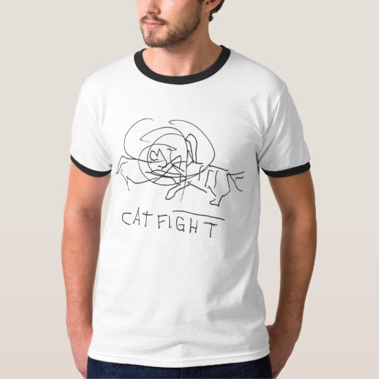 CatFight T-shirt