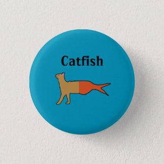 Catfish 1 Inch Round Button