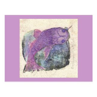 catfish are jumpin postcard