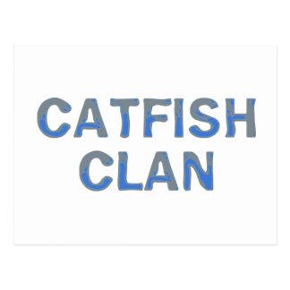 catfish clan postcard