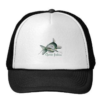CATFISH GONE FISHIN TRUCKER HAT