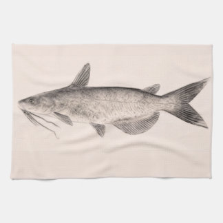 Catfish Kitchen Towel