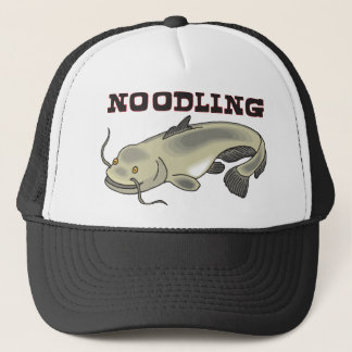 Catfish Noodling Trucker Hat