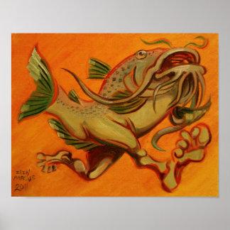 CatFish Run Poster