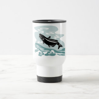 catfish woodcut mug