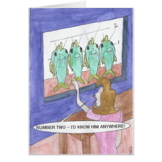 Catfishing Birthday Card