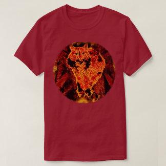 Catflagration Dark Colors T Shirt