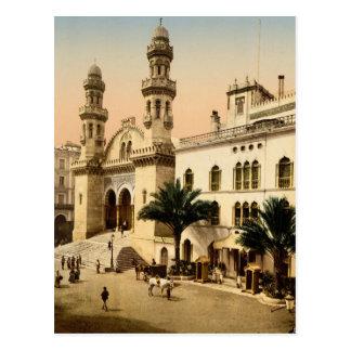 Cathedral Algiers Algeria Postcard