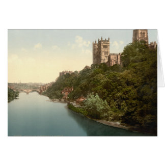 Cathedral and Church, Durham, England Card