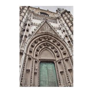 cathedral catolic temple. Sevillia. Spain Acrylic Wall Art