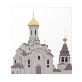 Cathedral Illustration Notepad
