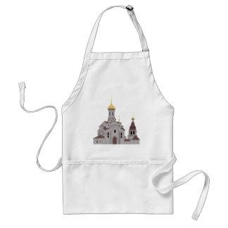 Cathedral Illustration Standard Apron
