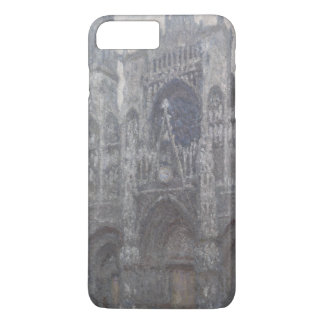 Cathedral in Rouen Portal Grey Weather by Monet iPhone 7 Plus Case
