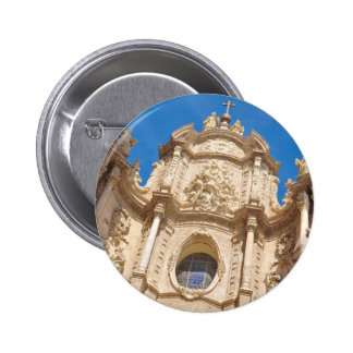 Cathedral in Valencia, Spain 2 Inch Round Button