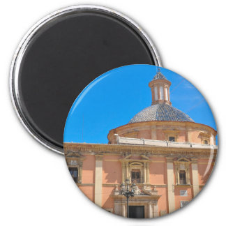 Cathedral in Valencia, Spain 2 Inch Round Magnet