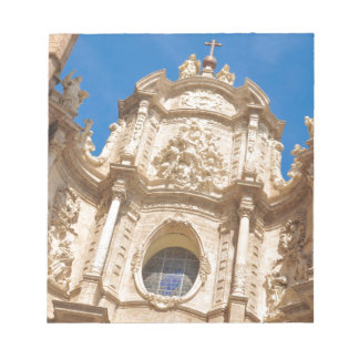Cathedral in Valencia, Spain Notepad