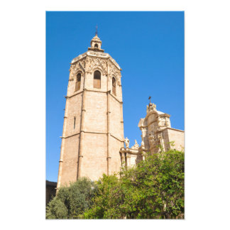 Cathedral in Valencia, Spain Photo Print