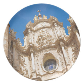 Cathedral in Valencia, Spain Plates