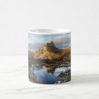 Cathedral Lake and Peak - Yosemite John Muir Trail Coffee Mug