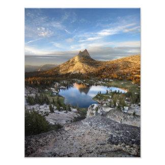 Cathedral Lake and Peak - Yosemite John Muir Trail Photo Print