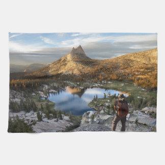 Cathedral Lake / Peak - Yosemite - John Muir Trail Hand Towels