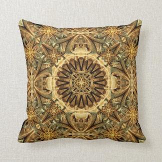 Cathedral Mandala Throw Pillow