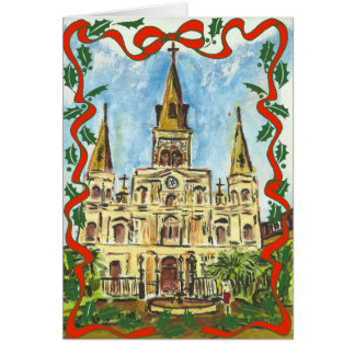 Cathedral New Orleans Card