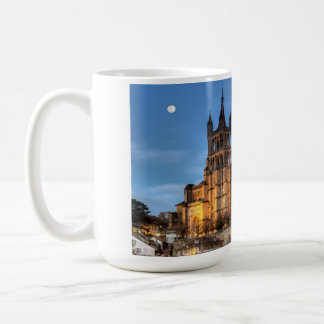 Cathedral Notre Dame of Lausanne, Switzerland, HDR Coffee Mug