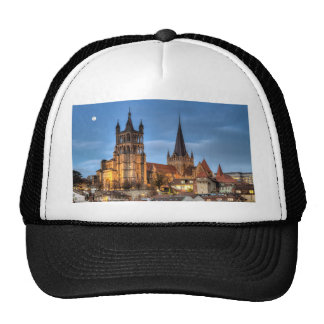 Cathedral Notre Dame of Lausanne, Switzerland, HDR Trucker Hat