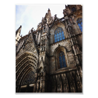 Cathedral of Barcelona Photo Print