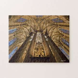 Cathedral of Barcelona, Spain Puzzle