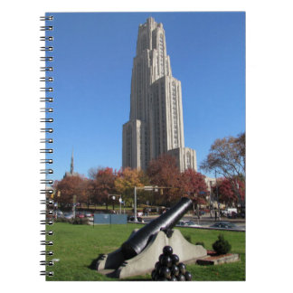 Cathedral of Learning University of Pittsburgh Notebook