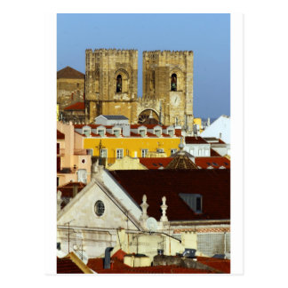 Cathedral of Lisbon, Lisbon, Portugal Postcard