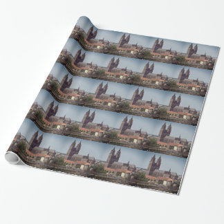 Cathedral of Magdeburg 001.F.02 Wrapping Paper