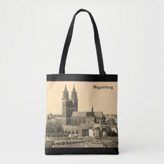 Cathedral of Magdeburg 001.T.F.02 Tote Bag
