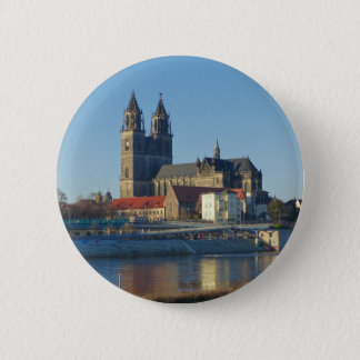 Cathedral of Magdeburg 03.01 2 Inch Round Button