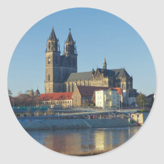 Cathedral of Magdeburg 03.01 Classic Round Sticker