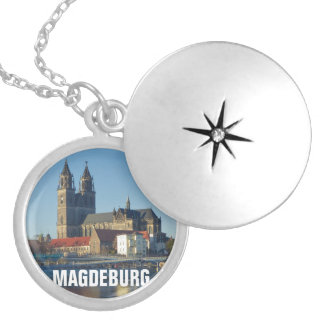 Cathedral of Magdeburg 03.2.T Silver Plated Necklace