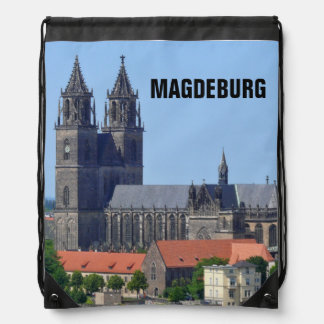 Cathedral of Magdeburg 2.0.T Drawstring Bag
