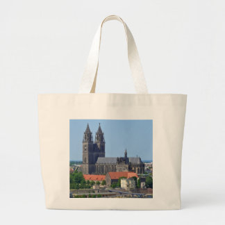 Cathedral of Magdeburg Large Tote Bag
