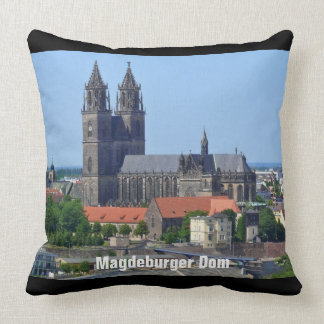 Cathedral of Magdeburg Throw Pillow