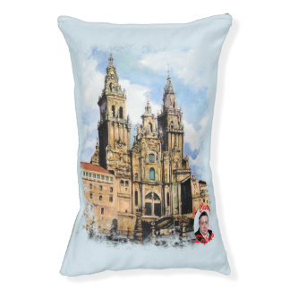 Cathedral of Santiago de Compostela (To Corunna) Pet Bed