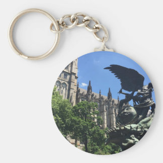 Cathedral of St. John the Divine, New York City NY Keychain