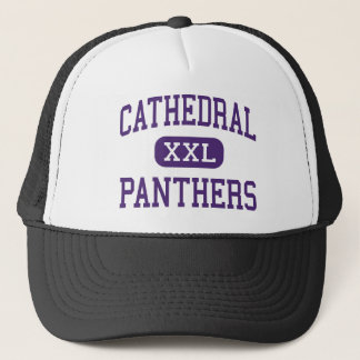 Cathedral - Panthers - High - Springfield Trucker Hat
