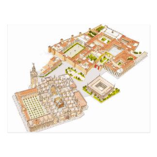 Cathedral Reales Alcazares Archivo de Indias. Postcard