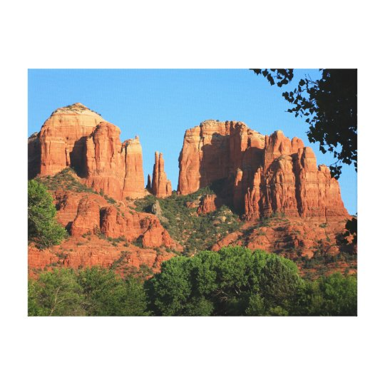Cathedral Rock | Sedona Arizona National Landmark Canvas Print