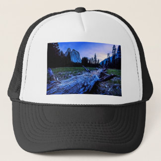 Cathedral Rocks from El Capitan Meadows Trucker Hat