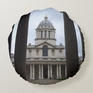Cathedral Round Pillow